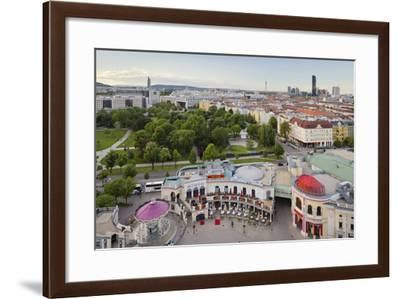 Wiener Prater, 2nd District, Vienna, Austria-Rainer Mirau-Framed Photographic Print