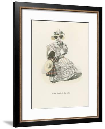 Wiener Zeitschrift, July 1826--Framed Giclee Print