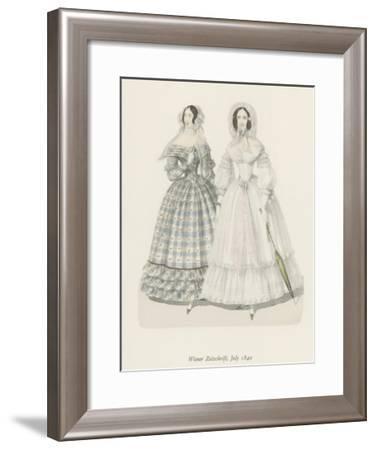 Wiener Zeitschrift, July 1840--Framed Giclee Print