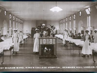 Wigram Ward of King's College Hospital, Denmark Hill, S.E. London--Photographic Print