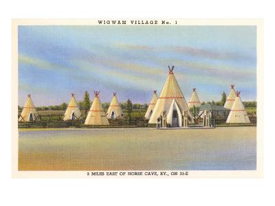 Wigwam Village Number 1, Motel--Art Print