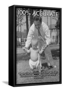 100% Accurate by Wilbur Pierce