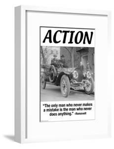 Action by Wilbur Pierce