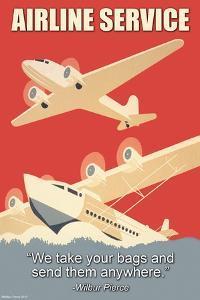 Airline Service by Wilbur Pierce