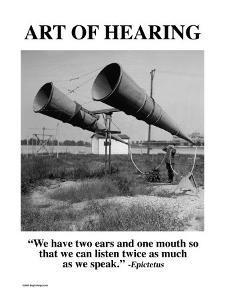 Art of Hearing by Wilbur Pierce