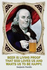 Beer Is Living Proof… by Wilbur Pierce