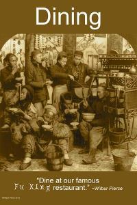 Dining by Wilbur Pierce