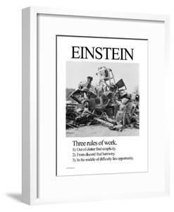Einstein; Three Rules of Work by Wilbur Pierce