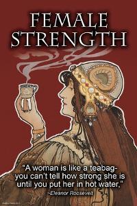 Female Strength by Wilbur Pierce