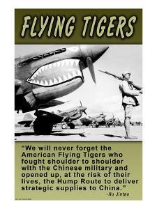Flying Tigers by Wilbur Pierce