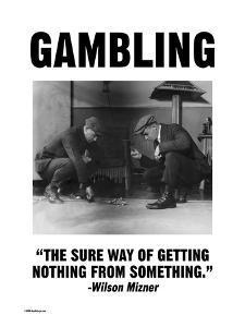Gambling by Wilbur Pierce