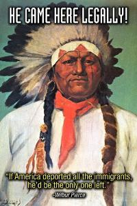 He Came Here Legally by Wilbur Pierce