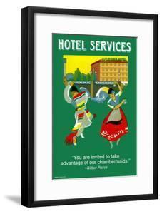 Hotel Services by Wilbur Pierce