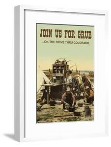 Join Us For Grub by Wilbur Pierce
