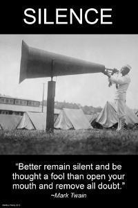 Silence by Wilbur Pierce