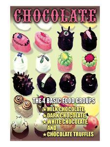 The 4 Basic Food Groups: Chocolate by Wilbur Pierce
