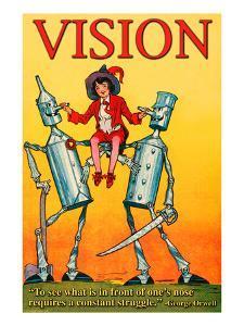 Vision by Wilbur Pierce