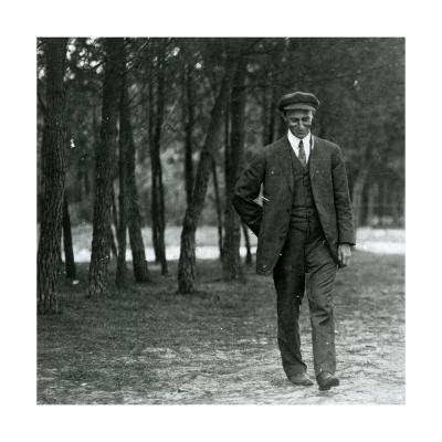 Wilbur Wright in France, 1909--Photographic Print