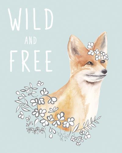 Wild and Free-Salla Tervonen-Art Print