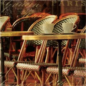 Parisian Cafe IV by Wild Apple Photography
