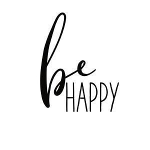 Be Happy by Wild Apple Portfolio