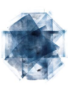 Blue and Gold Element III by Wild Apple Portfolio