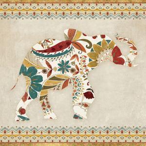 Boho Elephant I by Wild Apple Portfolio