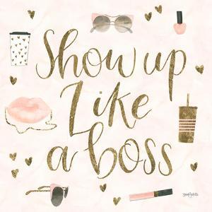 Boss Ladies VII Pink by Wild Apple Portfolio