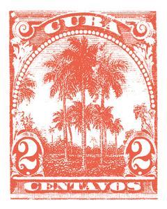 Cuba Stamp IX Bright by Wild Apple Portfolio