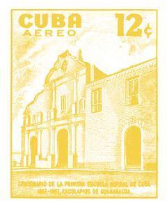 Cuba Stamp VI Bright by Wild Apple Portfolio