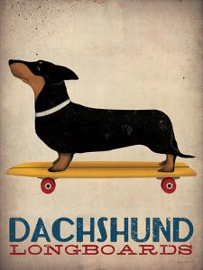 Dachshund Longboards by Wild Apple Portfolio
