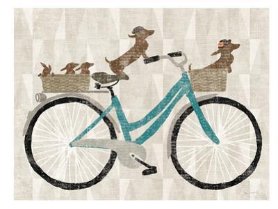 Doxie Ride Ver Ii by Wild Apple Portfolio