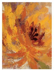 Fiery Dahlias I Crop by Wild Apple Portfolio