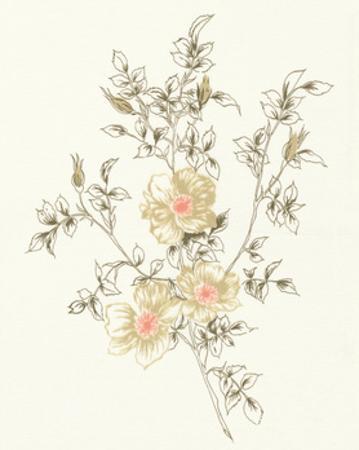 Flowers on White II by Wild Apple Portfolio