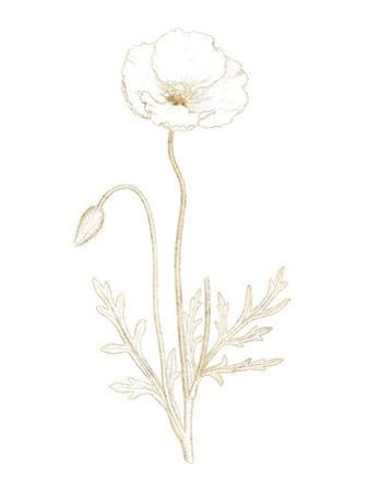 Gilded Botanical I by Wild Apple Portfolio