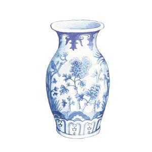 Ginger Jar II on White by Wild Apple Portfolio