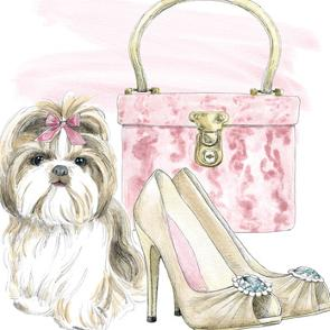 Glamour Pups II by Wild Apple Portfolio