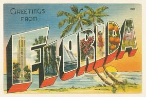 Greetings from Florida v2 by Wild Apple Portfolio