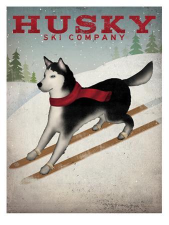 Husky Ski Co by Wild Apple Portfolio