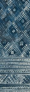 Indochina Batik II Crop by Wild Apple Portfolio