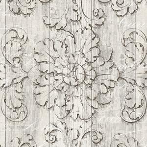 Italian Scroll V on Driftwood by Wild Apple Portfolio
