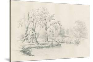 Lakeside Sketch by Wild Apple Portfolio