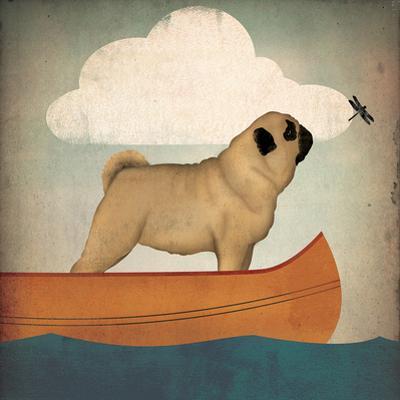 Pug Canoe by Wild Apple Portfolio
