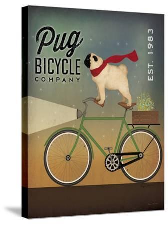 Pug On A Bike by Wild Apple Portfolio