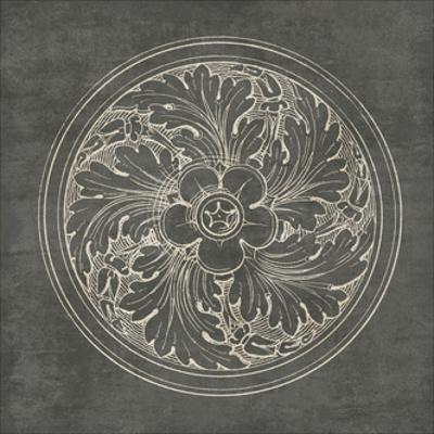 Rosette II Gray by Wild Apple Portfolio