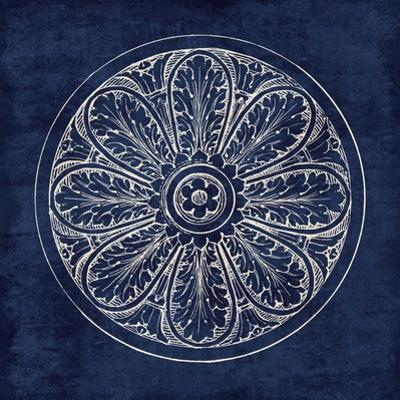 Rosette VIII Indigo by Wild Apple Portfolio