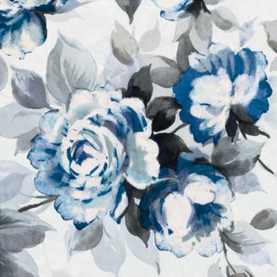 Scent of Roses Indigo III by Wild Apple Portfolio