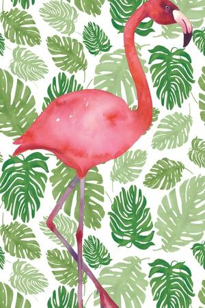 Tropical Flamingo I