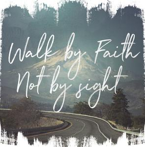 Wild Wishes Iii Walk By Faith by Wild Apple Portfolio