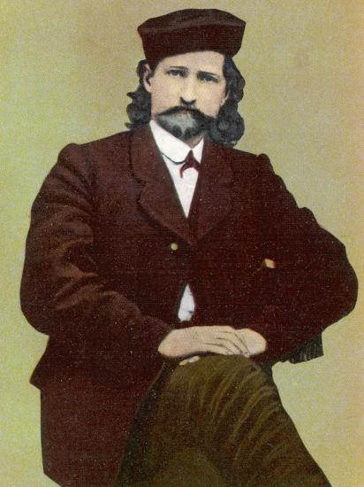 Wild Bill Hickok Alias James Butler American Frontiersman Stage Driver Scout and Us Marshal--Photographic Print
